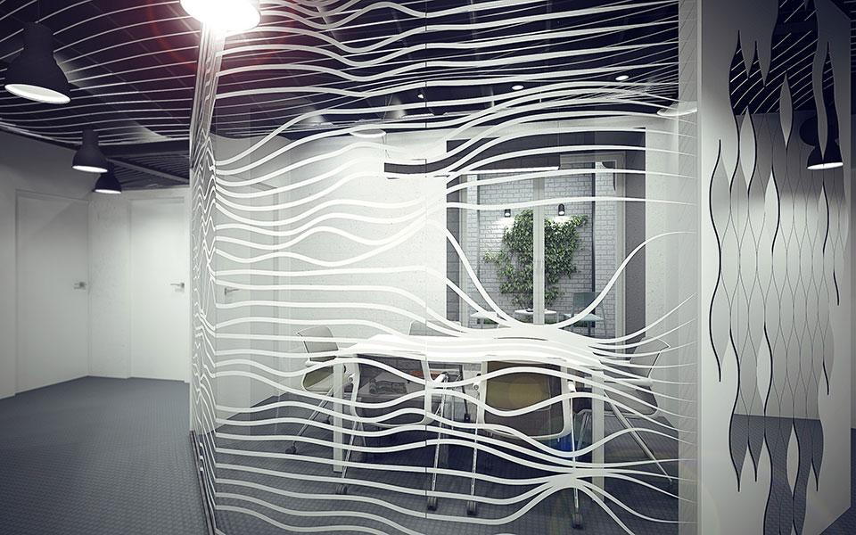 параметричний дизайн інтер'єру - офіс київ