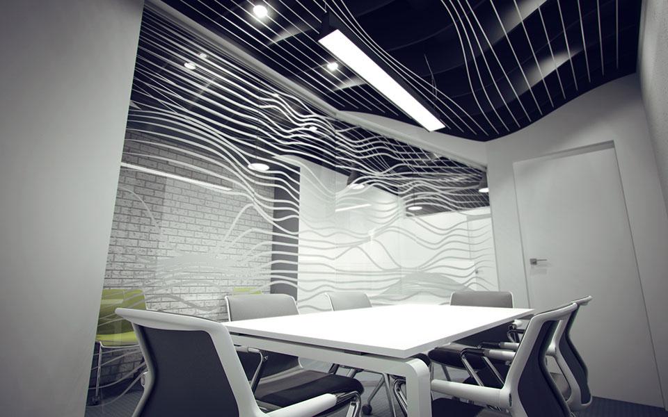 обчислювальний дизайн - інтер'єр офісу київ