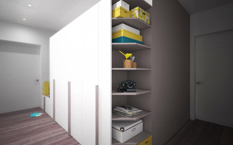 інтер'єр квартири москва - дизайн передпокою