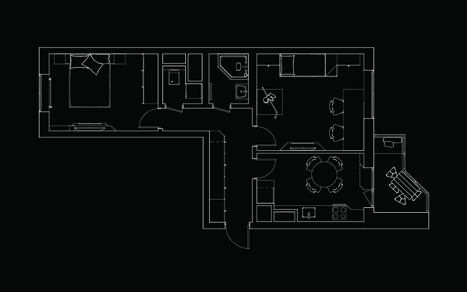 дизайн інтер'єру москва - планування квартири