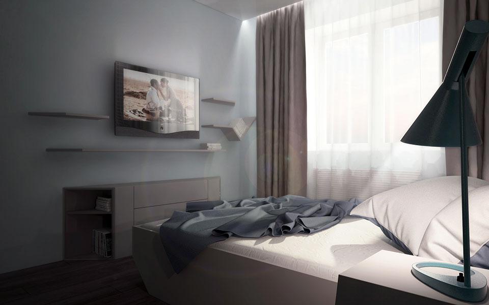 інтер'єр квартири москва - параметричний дизайн