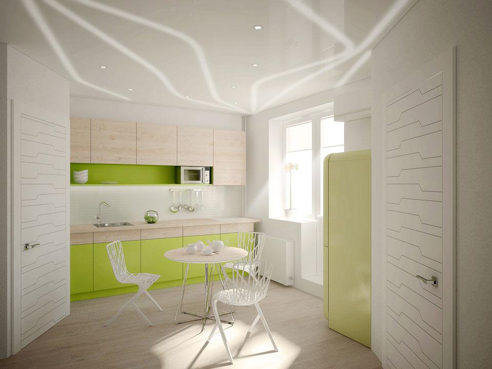дизайн квартири москва - параметричний інтер'єр