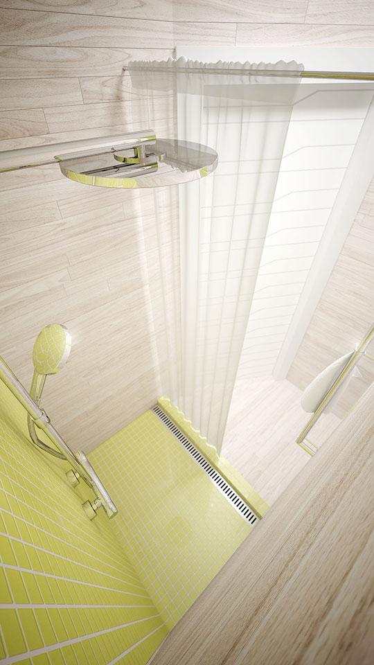 дизайн інтер'єру ванної - параметрика москва