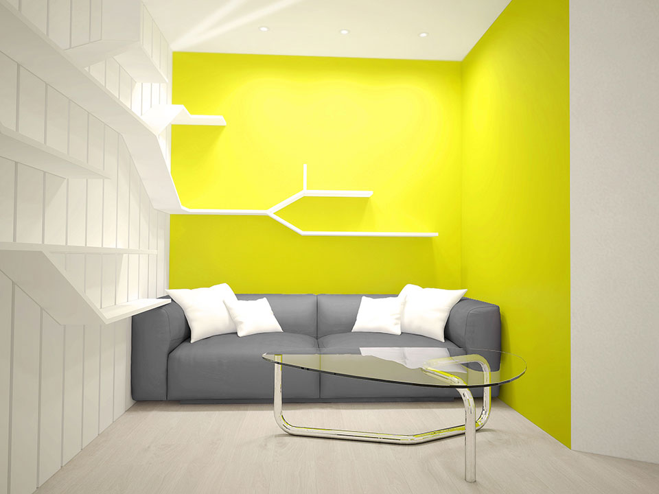 параметричний інтер'єр - дизайн квартири москва