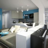 проект квартири київ - дизайн інтер'єру