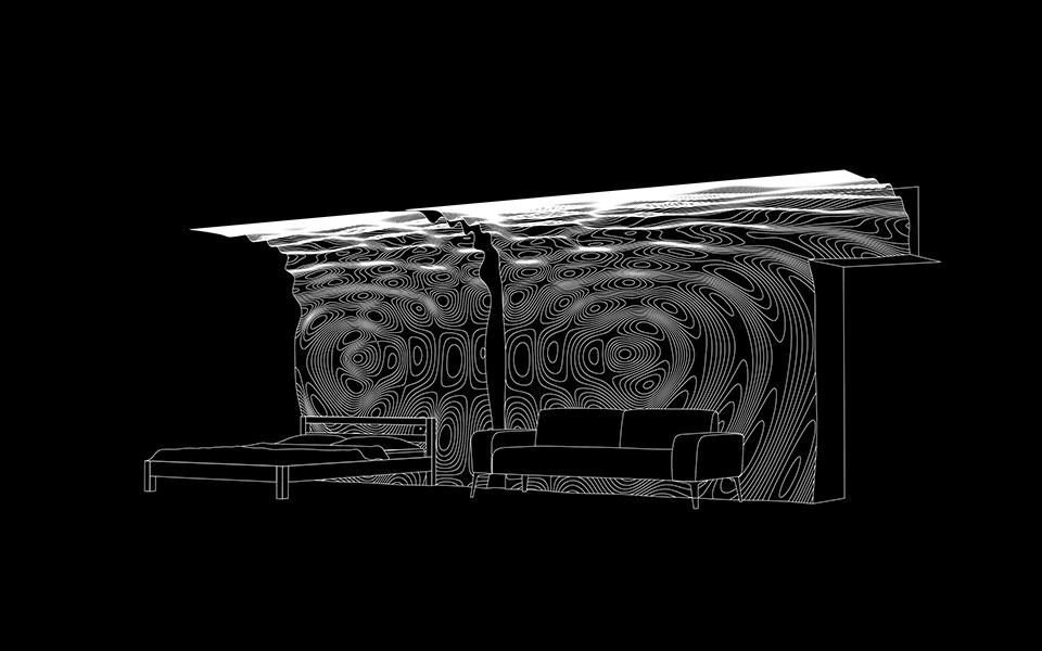параметричний інтер'єр київ - інтерференція архітектура