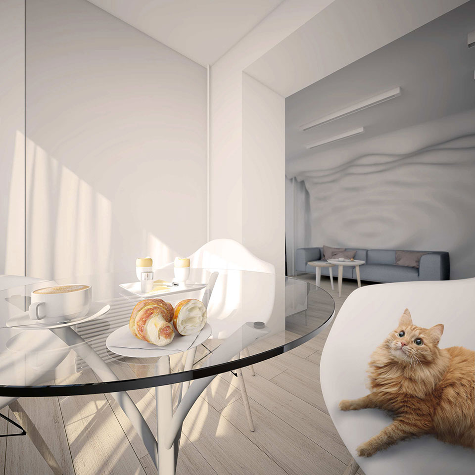 дизайн квартири київ - параметрична архітектура