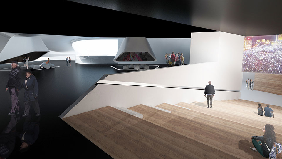 музей свободи у києві - архітектура