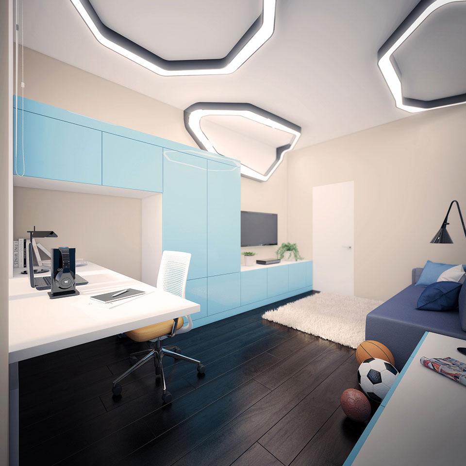 дизайн москва - інтер'єр дитячої кімнати