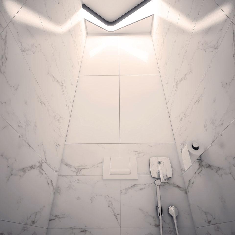 інтер'єр квартири москва - дизайн санвузла