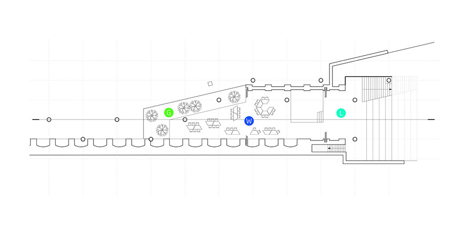 лондон станція шордіч архітектура план