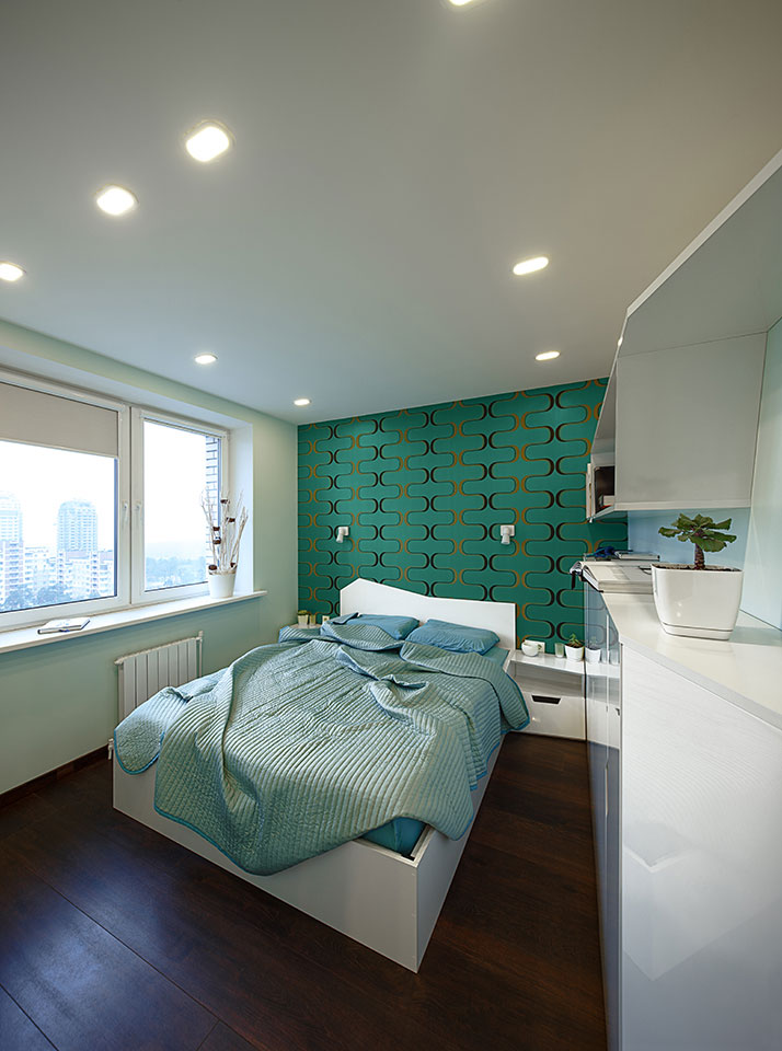 параметрична квартира київ - дизайн спальні