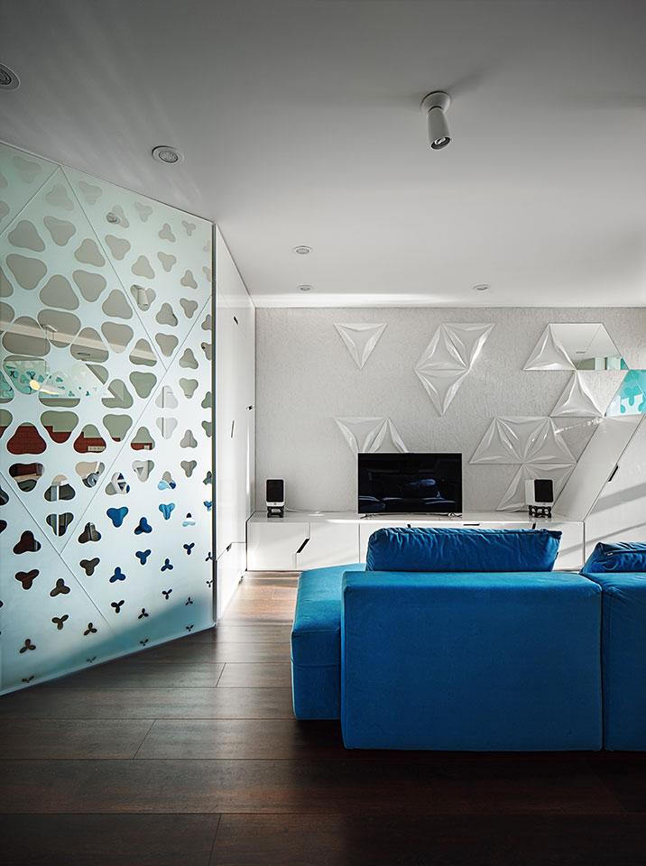 дизайн квартири-студії у києві