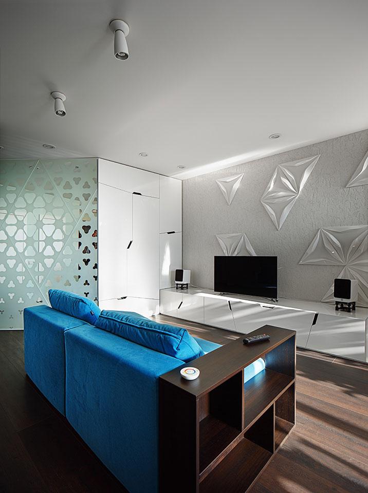 квартира студія київ - параметричний дизайн