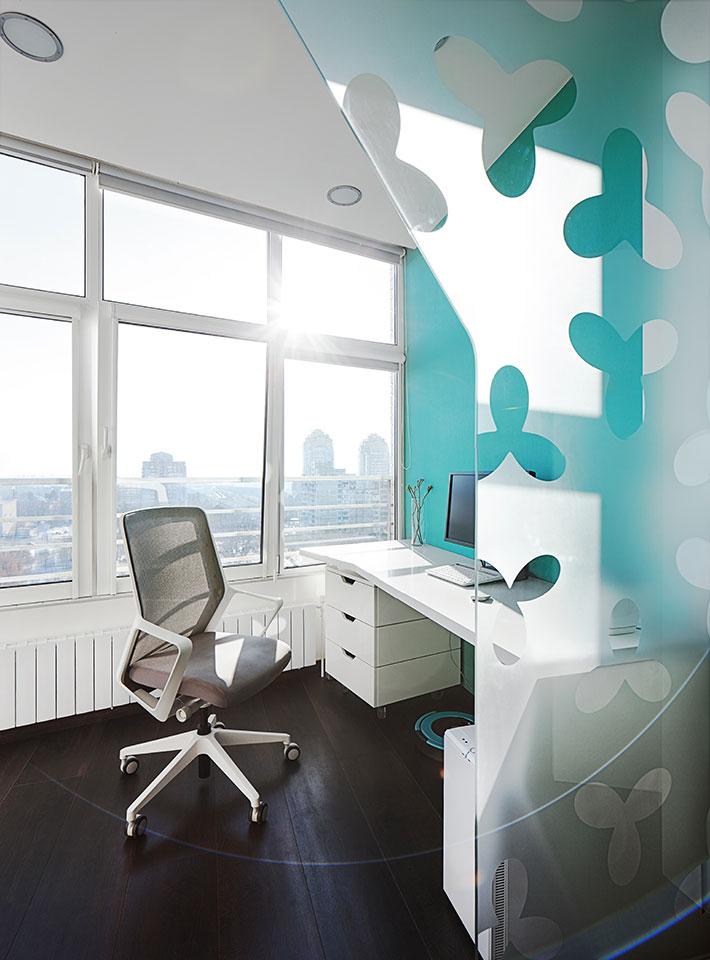параметрична квартира київ - дизайн кабінету