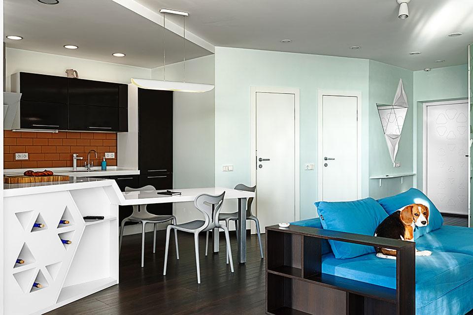 інтер'єр квартири київ - відкритий простір
