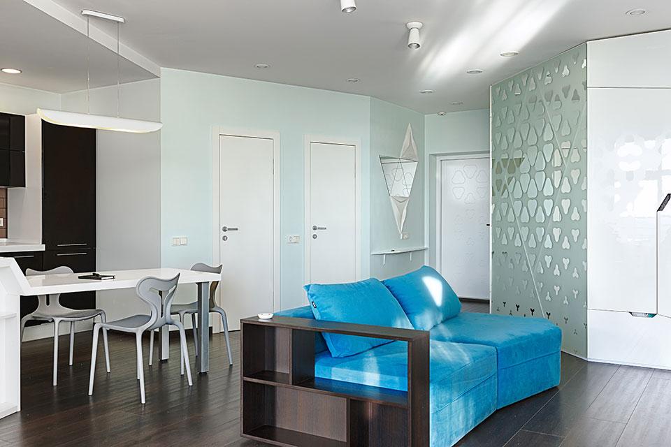 дизайн квартири київ - інтер'єр вітальні