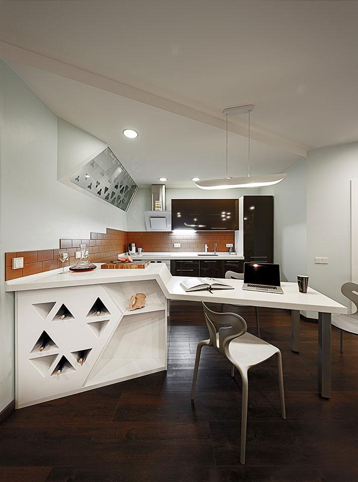 дизайн квартири київ - інтер'єр кухні