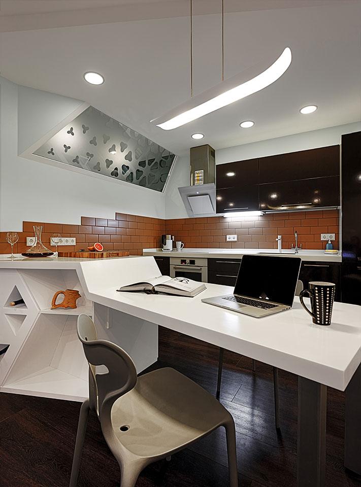 дизайн кваритри київ - кухня-ніша