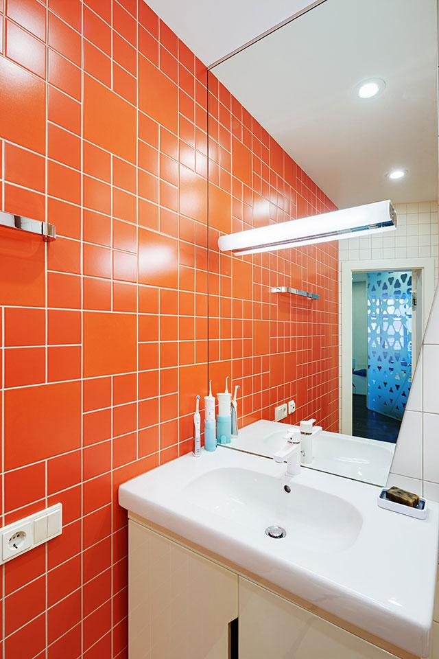 дизайн ванної кімнати - квартира київ