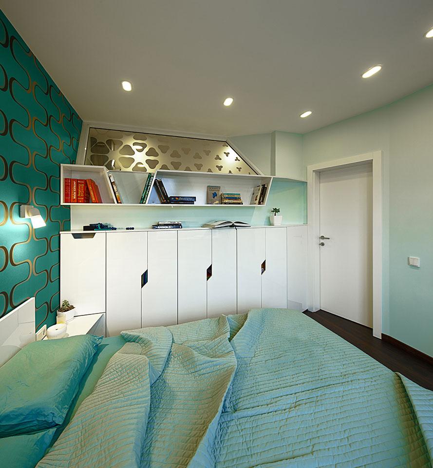 дизайн квартири у києві - спальня