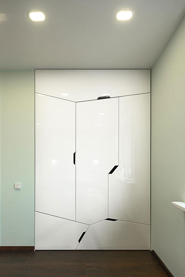 дизайн параметричної квартири київ - меблі