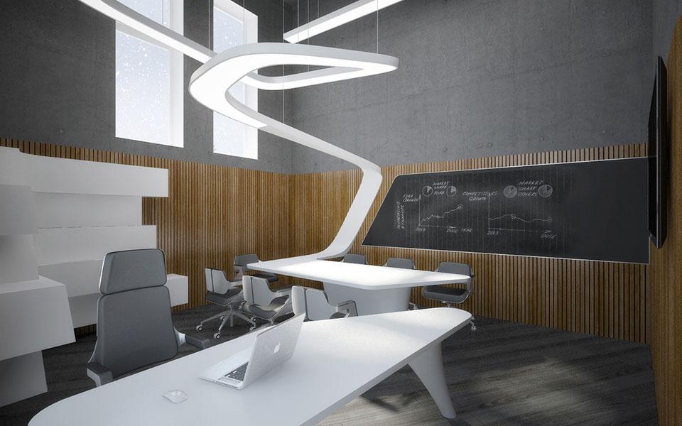 кабінет директора - центральний офіс компанії