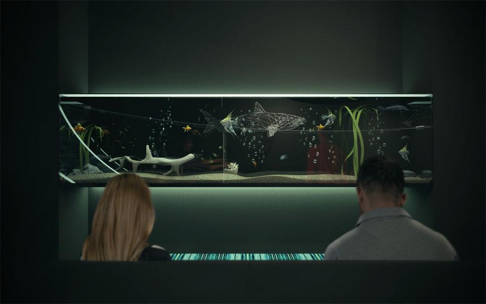 великий акваріум - зона великого релаксу