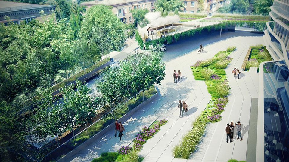 зелена архітектура у києві мечникова
