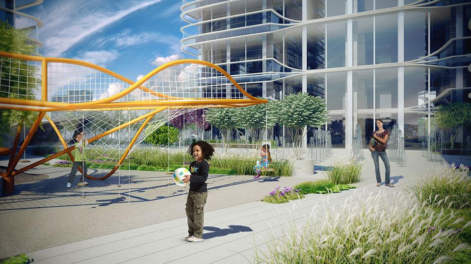 дизайн дитячого майданчику - знакова архітектура київ