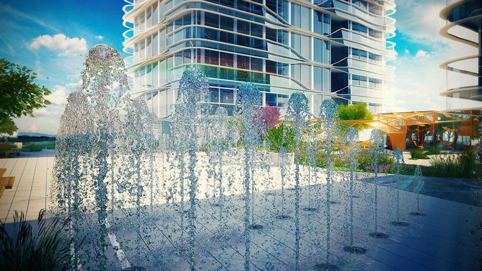 архітектура київ - знаковий сад на мечникова