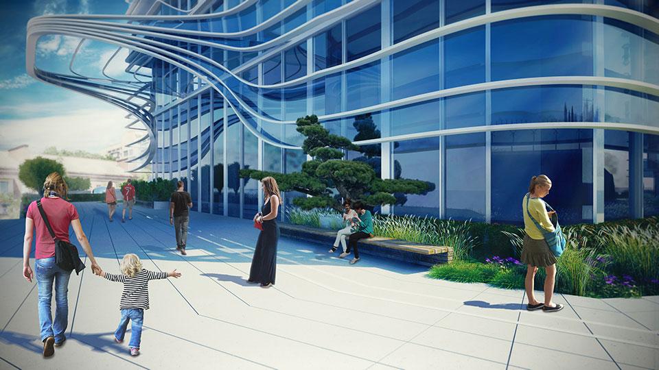знаковий сад київ - обчислювальна архітектура