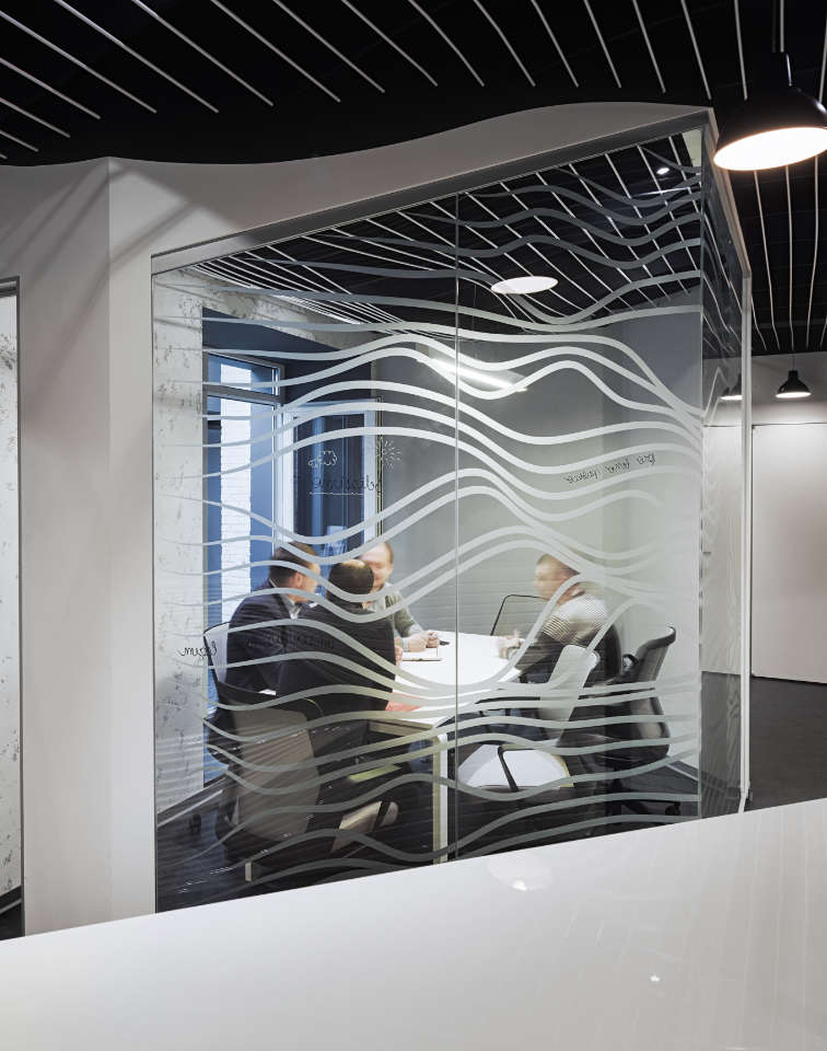 сучасний параметричний дизайн офісу у києві