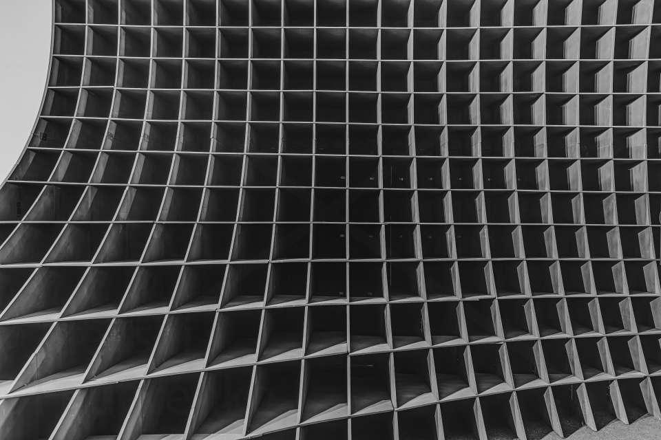 фанерна структура параметричного павільйону