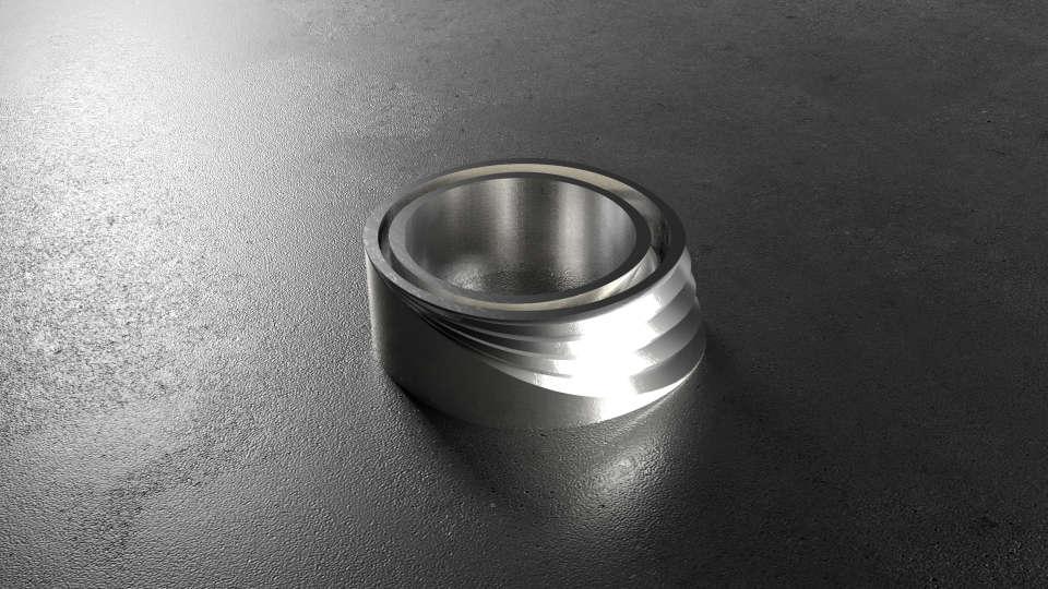 кільця, що при поєднанні утворюють єдину форму