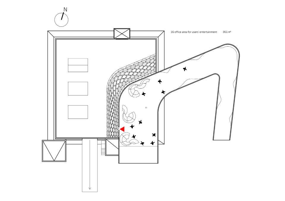 план третього поверху музичної споруди іспанія