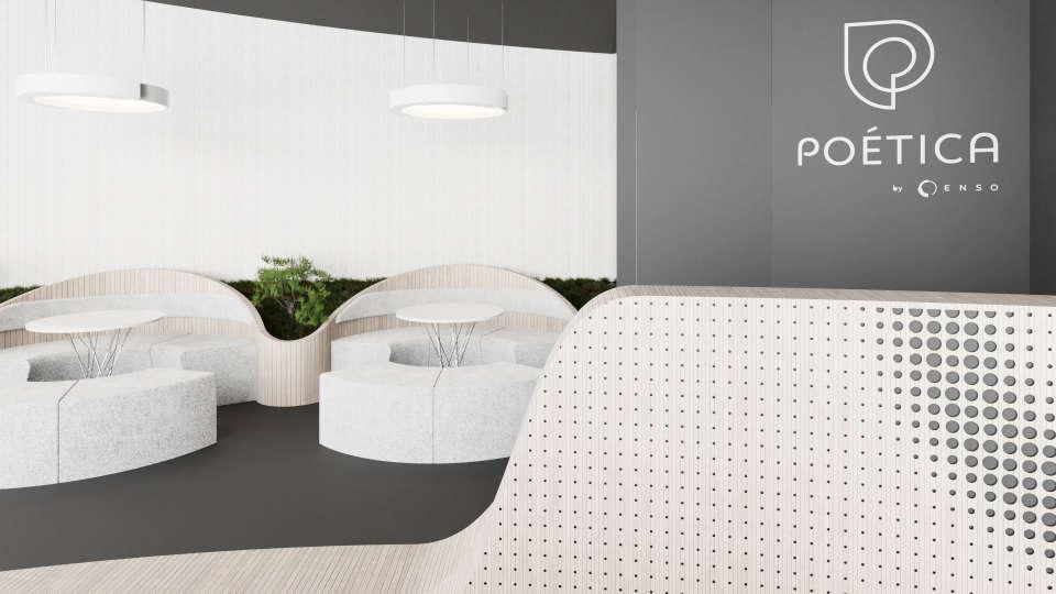 інтер'єр офісу продажу житлового комплексу Poetica
