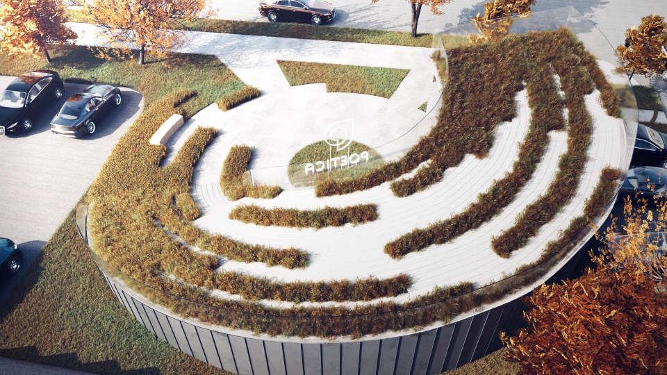 осінь зелений дах