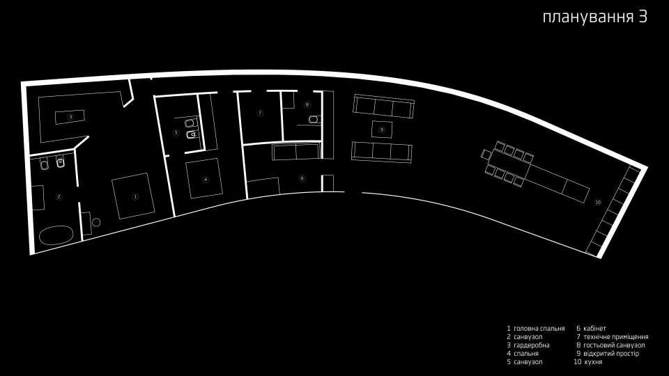параметрична архітектура - планування приватного будинку