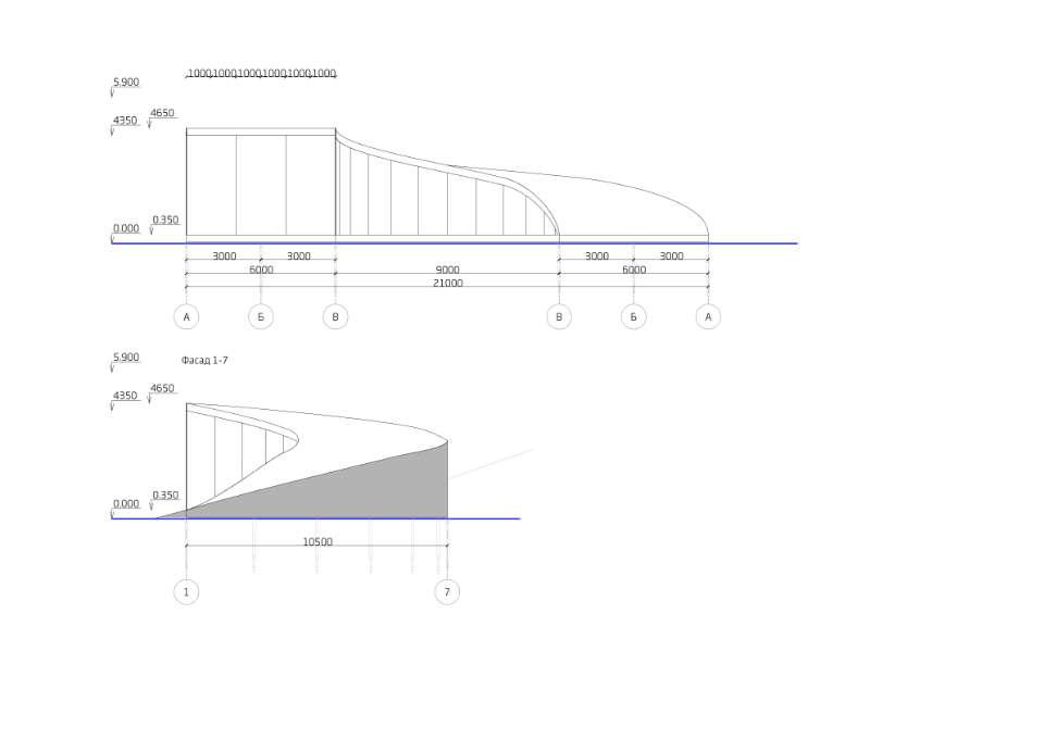 конструкція будівлі пандусу