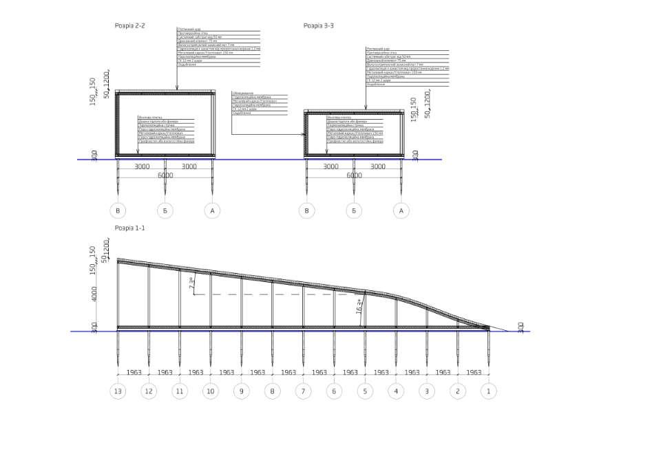 конструктивне рішення будівлі на геопалях