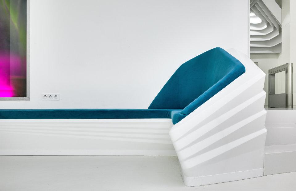 сучасні параметричні структури - склопластикові меблі