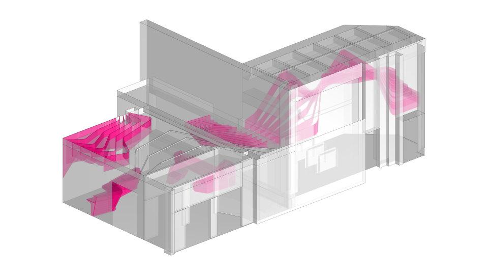 параметрична діаграма холу бізнес центру