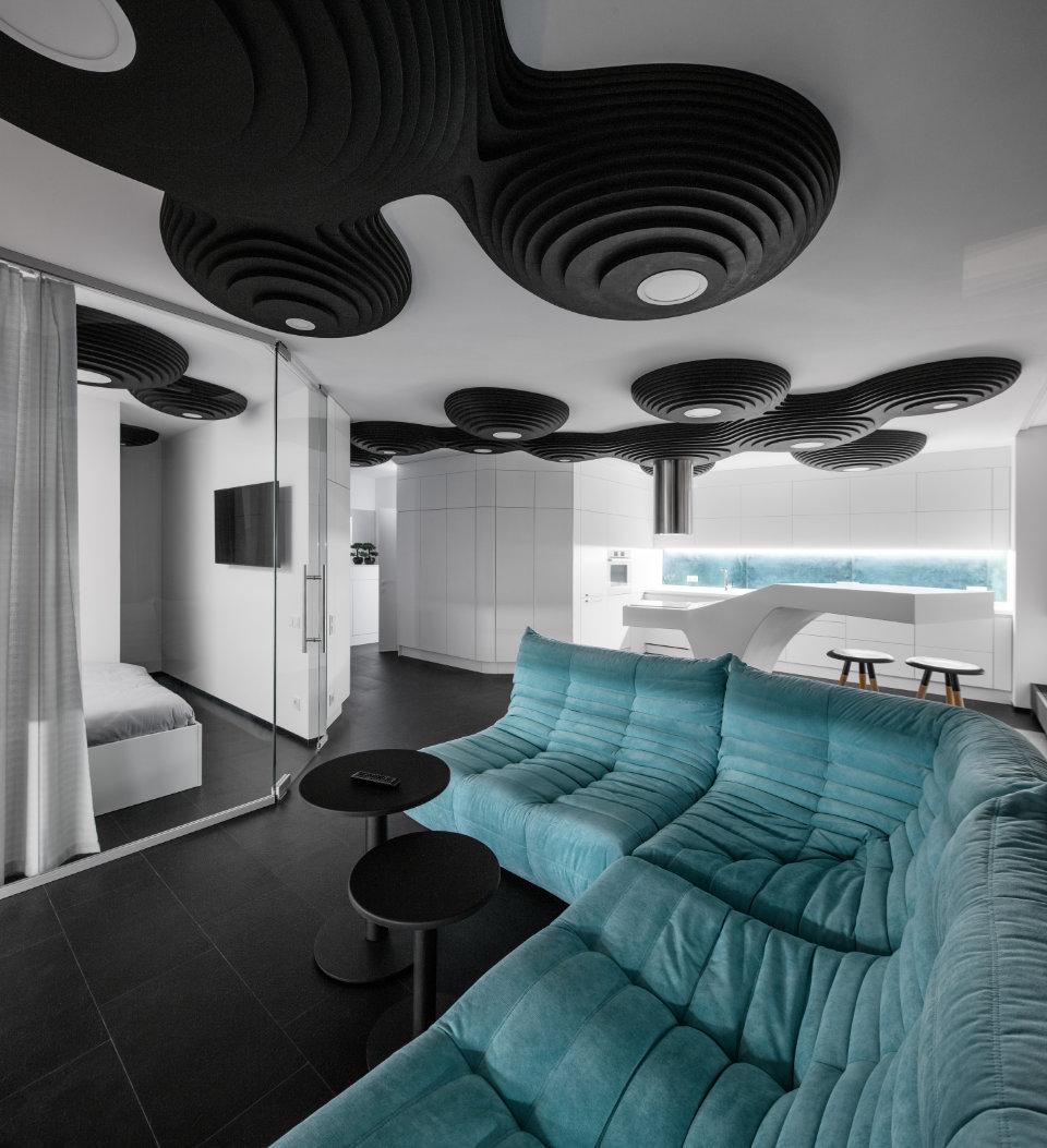 дизайн київської квартири у сучасному стилі