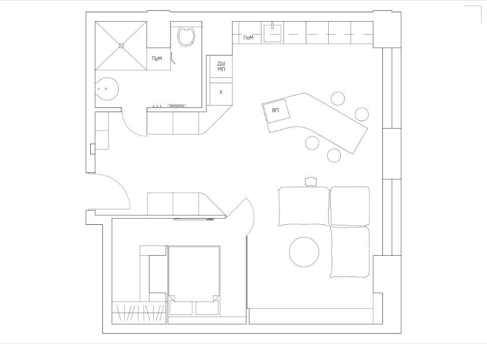 пданування квартири чорний восьминіг