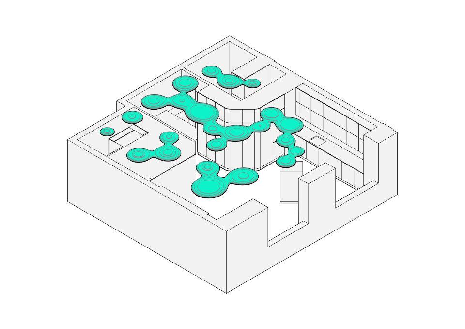 схема квартири чорний восьминіг