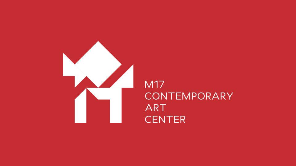айдентика центру сучасного мистецтва м17 лого
