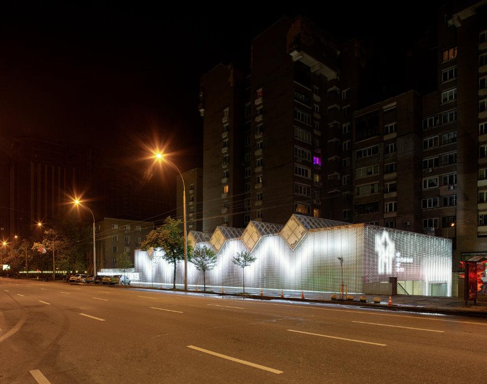 будівля центру сучасного митсецтва в києві