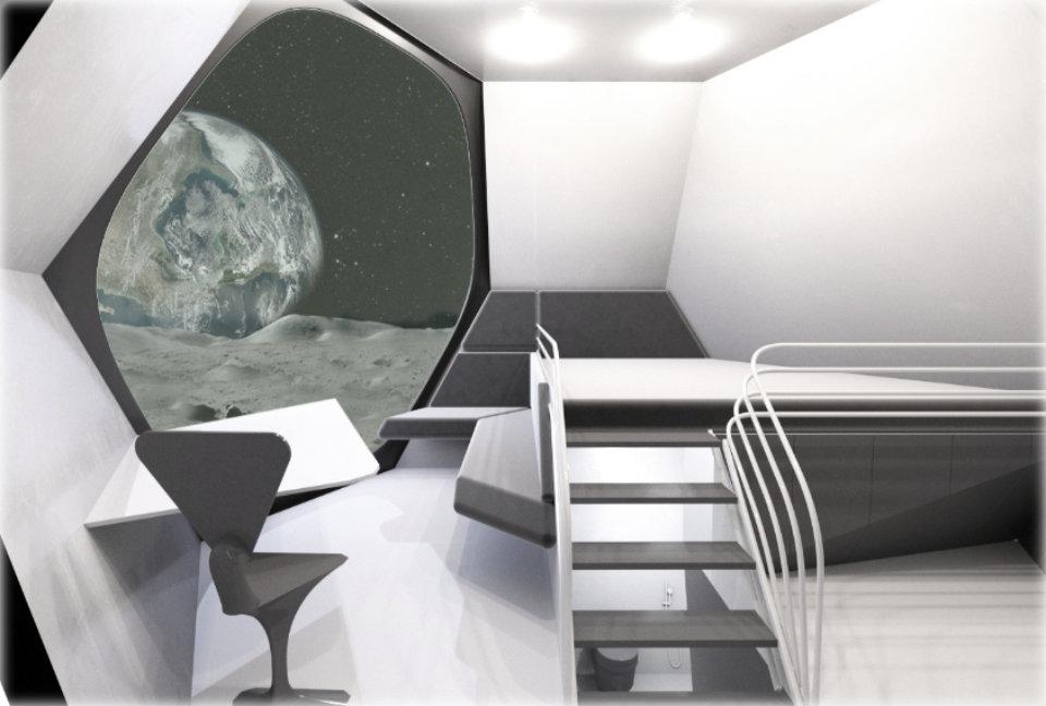 moonstation module interior