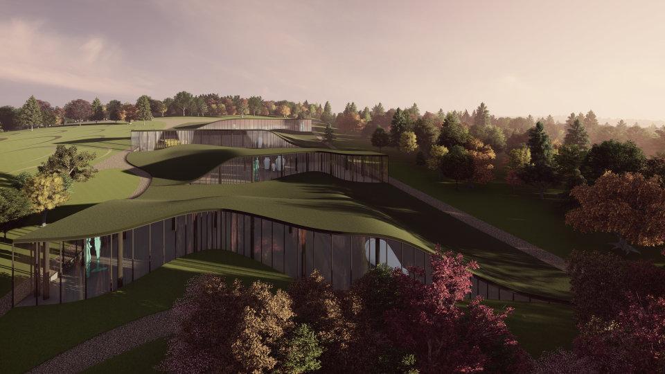зелена архітектура - рітейл та патіо